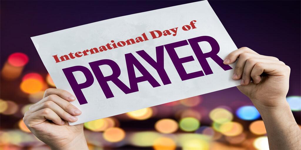 Sign for International Day of Prayer